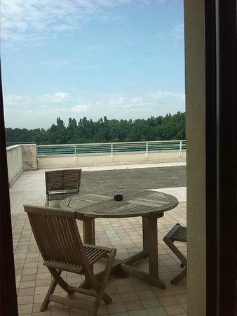 Thai Si Royal Thai Spa & Hotel : terrazza