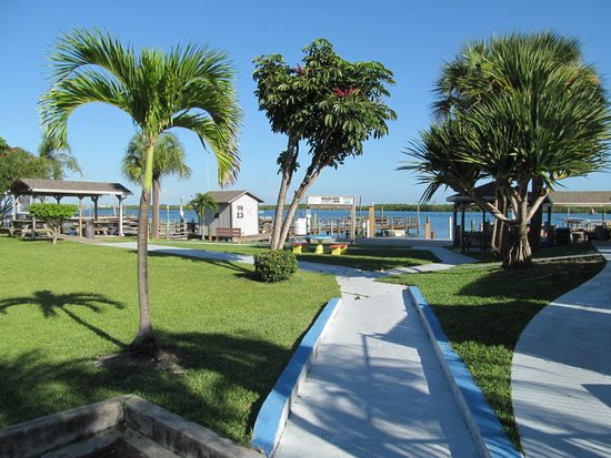 Dockside Inn & Resort : Hotel grounds