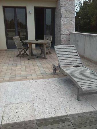 Thai Si Royal Thai Spa & Hotel: terrazza della camera