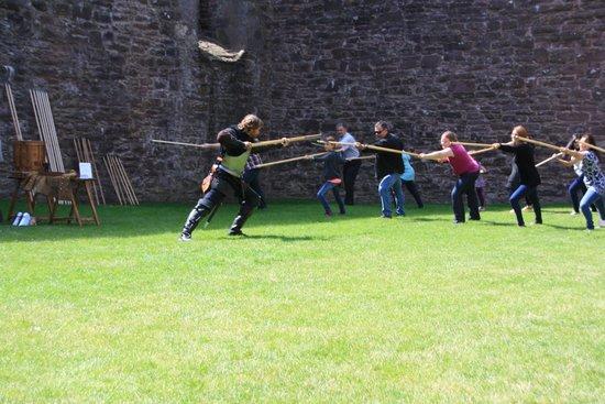 Doune Castle: Defending the Castle with Pikes