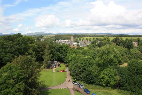Doune Castle: View from the Roof