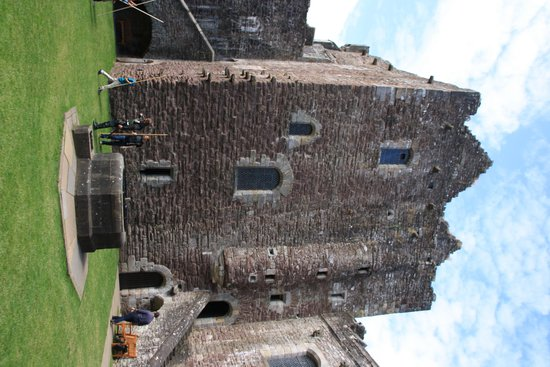 Doune Castle: One of the Castle Towers