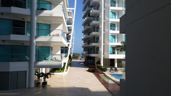 Sonesta Hotel Cartagena: Es parte de un complejo de edificios