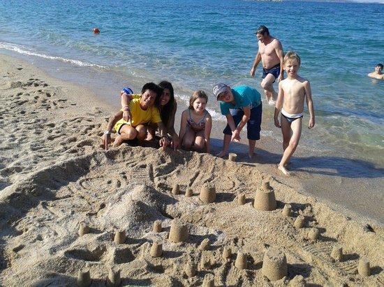 Stelle Marine Hotel & Resort : Castelli di sabbia myo kids