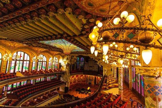 Palais de la Musique Catalane (Palau de la Musica Catalana) : Barcelona
