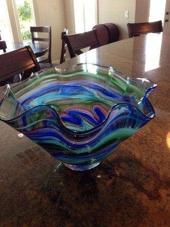 Jennifer Sears Glass Art Studio : My vase, with a lot of great help!