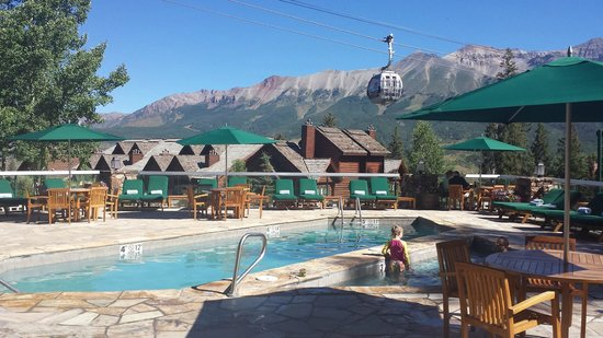 Mountain Lodge Telluride : View from main lodge