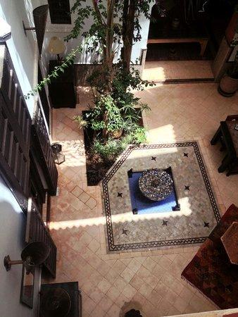 Riad Swaka: Courtyard
