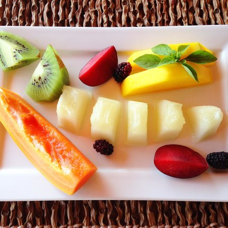 Hotel Boutique Insólito : Fruits from breakfast