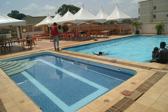 Kireka, Ouganda : Pool at the hotel