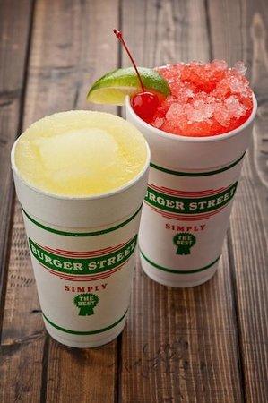 Burger Street: Frozen Lemonade, Cherry Limeade