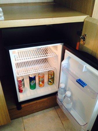 Nap Patong: お水サービスはタイでは基本だが、冷蔵庫の中もフリーなのは珍しい。有料でも日本と違い自販機で買う位の金額だが、フリーは地味に嬉しい。