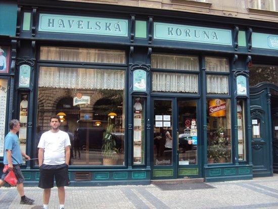 Restaurant Havelska Koruna: frente do restaurante