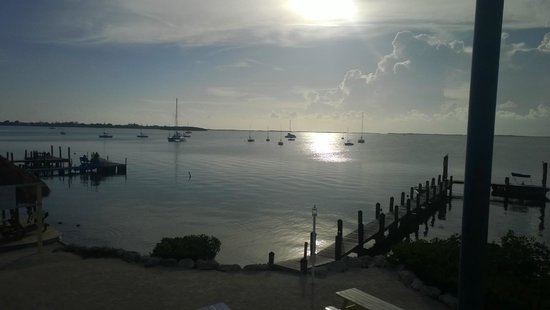 Bayside Grille & Sunset Bar: View from table