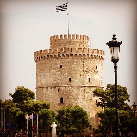 White Tower of Thessaloniki: The white tower