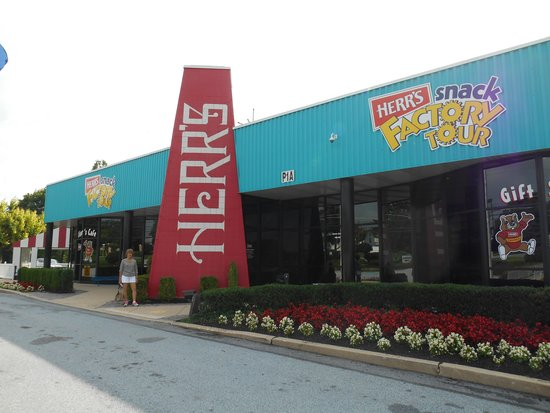 Herr's Snack Factory Tour: Begin your tour HERE