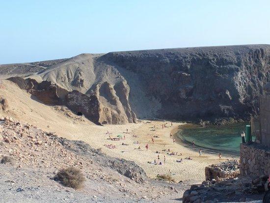 Playa de Papagayo : Plage de Papagayo
