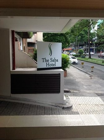 The Saba Hotel: please do not book this hotel if you have special needs