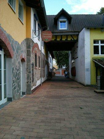 Brauhaus Obermuhle: Une belle architecture.