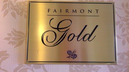 Fairmont Chateau Lake Louise: Fairmount Gold