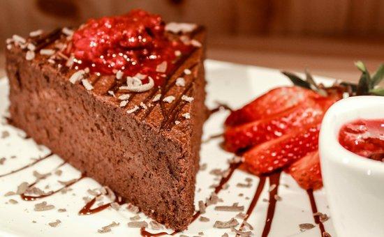 Me Late Chocolate: Chocolate amargo y frutos rojos