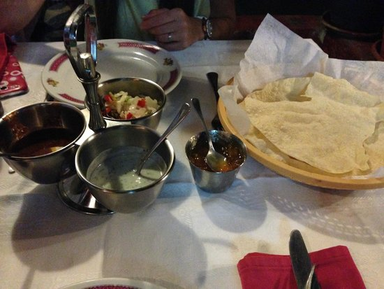 Tandoori Nights: Entrantes(invitación del restaurante)