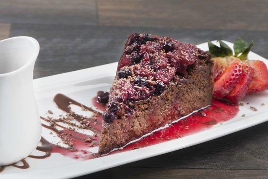 Me Late Chocolate: Cheesecake de chocolate y frutos rojos