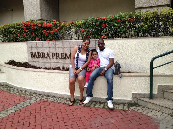 Bourbon Barra Premium Residence : Frente do Hotel