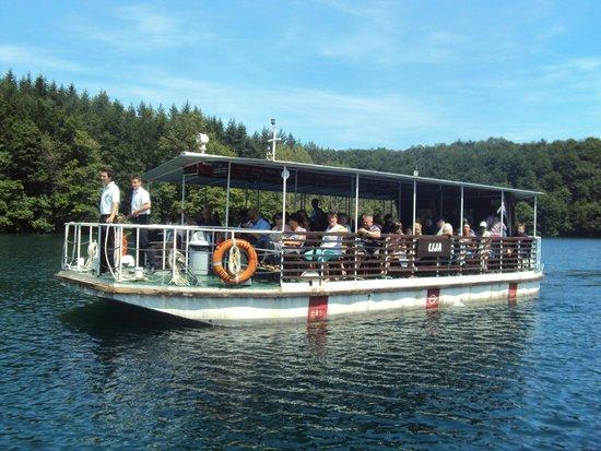 Plitvice Lakes National Park : transfer de barco