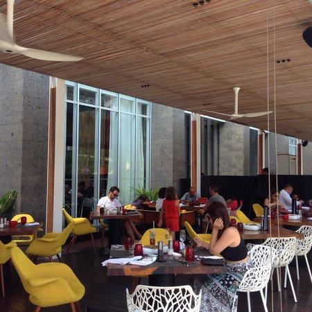 FIRE at W Bali - Seminyak : Terrace @ Fire Restaurant