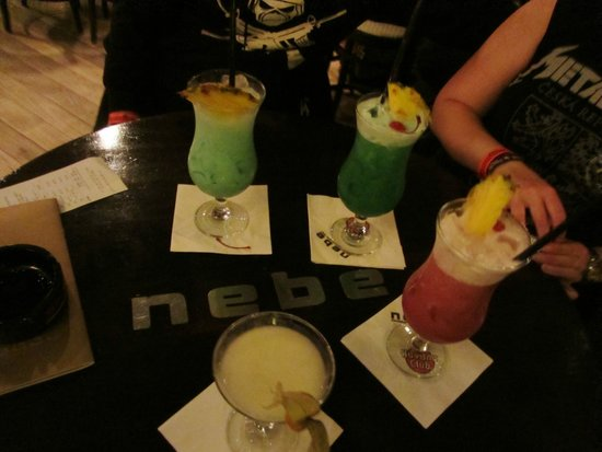 Nebe Cocktail & Music Bar: Awesome cocktails!
