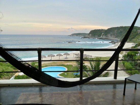 Manta Raya Hotel: View from room