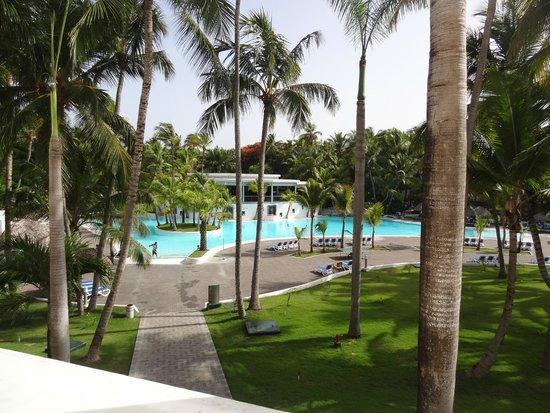 Hotel Riu Naiboa: vista desde el balcon
