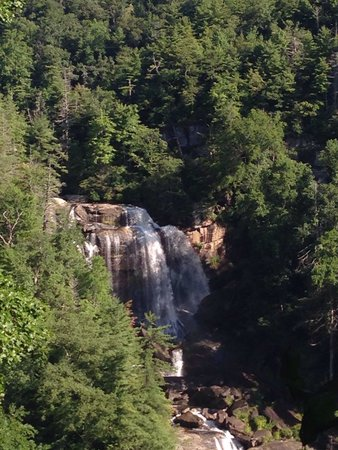 Whitewater Falls: View from up top.