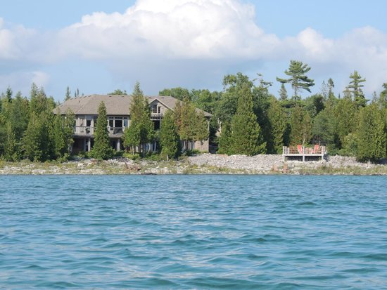 Acres on the Lake Bed and Breakfast: Kayak view