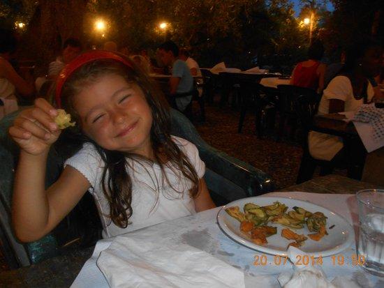 Agriturismo Osteria Pane e vino: sophie con la verdura