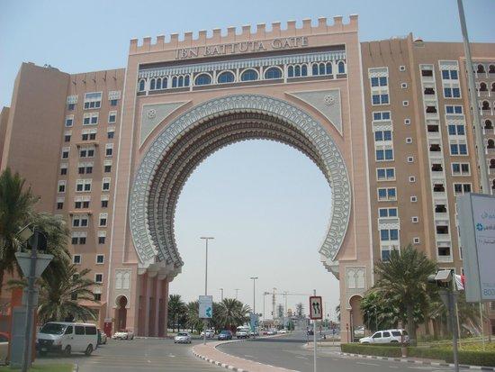 Movenpick Ibn Battuta Gate Hotel Dubai: outside
