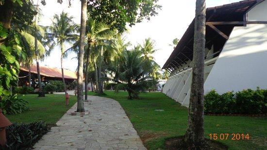 Serrambi Resort: Vista dos apartamentos