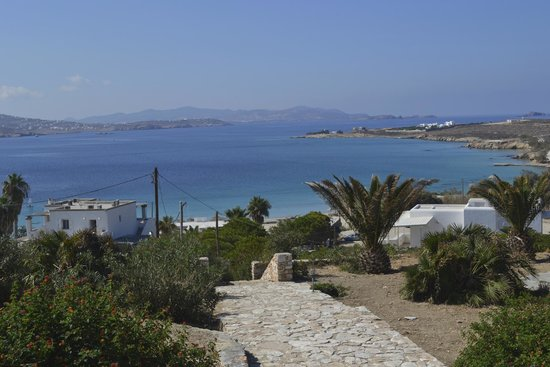Paros Agnanti Resort : Amazing view from top of the hotel, outside our room