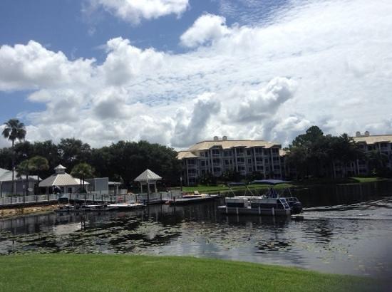 Marriott's Cypress Harbour Villas : Main Lake