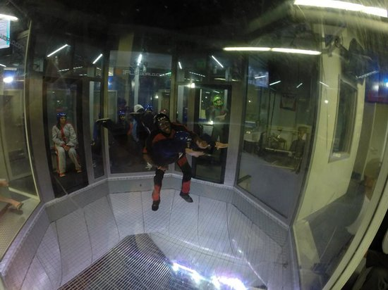 iFLY: our 1st fly
