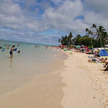 Lanikai Beach : 右側(東)