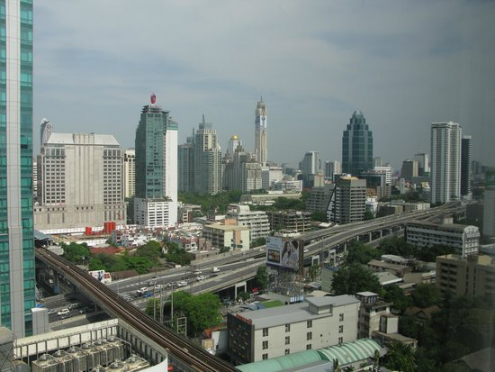 JW Marriott Hotel Bangkok: VIEW OF BANGKOK FROM OUR ROOM