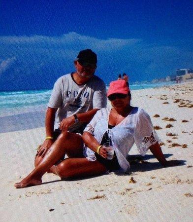 Panama Jack Resorts - Gran Caribe Cancun: A la orilla de la playa del Hotel