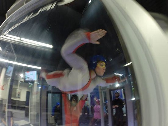 iFLY: our 1st fly session