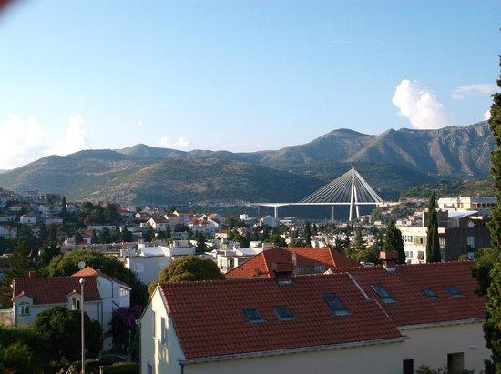 Villa Franovic: View from the balcony