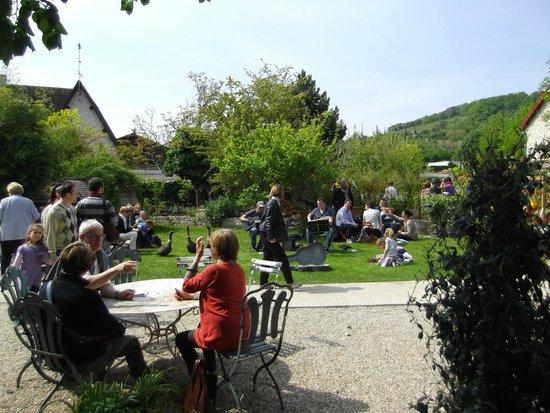 La Capucine - Giverny : Jardin