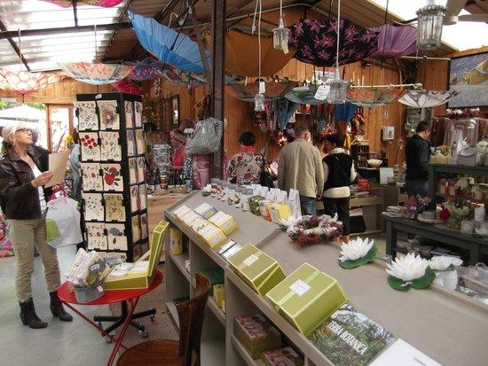 La Capucine - Giverny : la boutique cadeaux