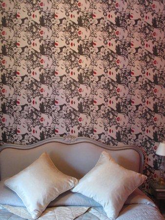 Hotel de Latour Maubourg: Cute wallpaper