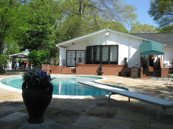 Graceland: Pool side